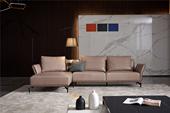 A003#瑞德家居 风气系列  意式极简气概 纳帕真皮 大户型沙发套装(3+右贵妃)