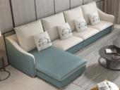 【纾康】X1910B (1+3+左/右贵妃) 古代气概 科技布面料 多种组合、配色沙发套装(不分摆布)
