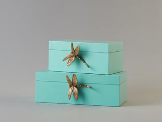 轻奢气概 木质金饰盒 A款