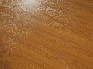 简美 复合强化地板 3D幻影 中性色系 环保地板