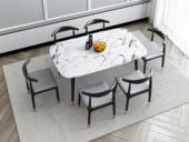 艺家 轻奢气概 1.6米 大理石 餐桌