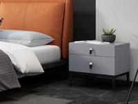 奢工 潮品系列 极简气概 C-26床头柜 漆面床头柜