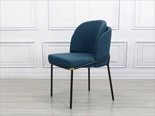 极简气概 金属铁脚  优良棉夏布料 餐椅(1把价钱,2把起售,不但卖)