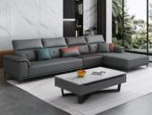 纾康 古代繁复 科技布 (1+3+左贵妃)沙发组合