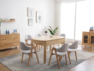 北欧气概 实木餐桌