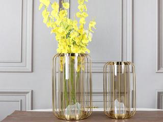 铁两件套花瓶(包邮)