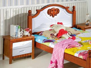 地中海 儿童床床头柜