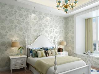 【包邮】简约卧室书房客厅电视背景 双色提花墙布