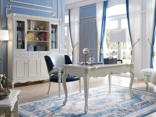 法式 进口北美橡木 小法至佳系列书椅