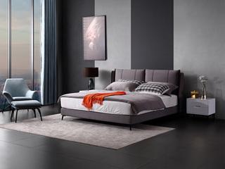 现代简约T7018布艺床 1.5*2.0米