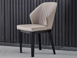 极简D01餐椅 实木餐椅
