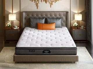 公爵B款 偏硬护脊双人床垫 纳米针织布 2.0*2.2米可定制床垫(包邮 送货到家)