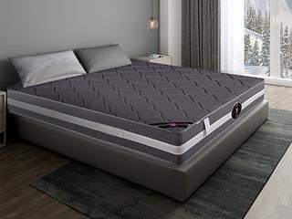 公爵C款 天然东南亚进口乳胶床垫 竹炭面料床垫 正反两用 静音独立袋弹簧 1.2*2.0米可定制床垫(包邮 送货到家)