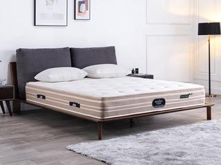 国王3D床垫 库布独立袋装弹簧 高克纳米针织面料 静音床垫 1.5*2.0米可定制床垫
