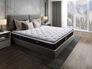 侯爵B款 9区独立袋装弹簧 天然东南亚进口乳胶床垫 高棉纳米针织面料 软硬两用床垫 1.35*2.0米可定制床垫