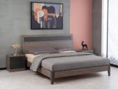科隆印象 现代简约 高级灰 经济型卧室床 1.8*2.0米高箱床