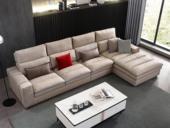 芬洛 現代簡約 進口樟子松堅固框架 科技布 羽絨+乳膠 321B 彈簧底坐 沙發組合(1+3+左貴妃)