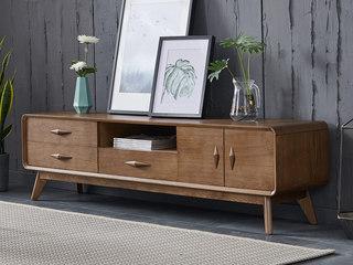 北欧风格 北美进口白蜡木 电视柜