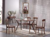 源木时光 北欧风格 北美进口白蜡木 1.4m餐桌