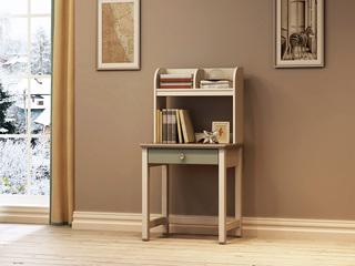 简美 卡慕斯系列 泰国进口橡胶木 儿童小书桌