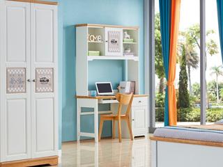 简美风格 泰国进口橡胶木 蜜桃金色椅子