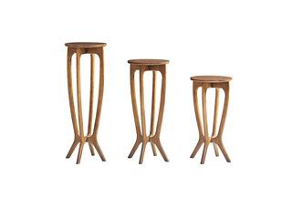 北欧风格 精选白蜡木 优雅木纹 精细做工 矮花架