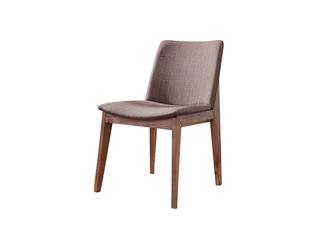 北欧风格 优质北美进口白蜡木 布艺餐椅