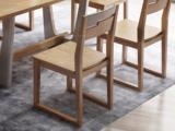 荣之鼎 北欧风格 泰国进口橡胶木 实木餐椅