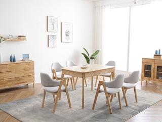 北欧风格 实木餐桌