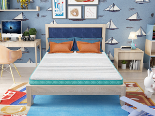 ·酷睡綠洲1.2*1.9 椰棕專業兒童6cm3D床墊 高箱上下鋪床適用