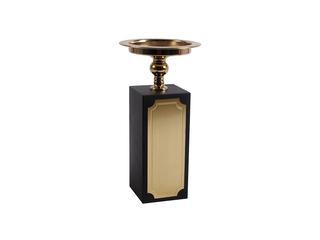 轻奢风格 铜+铁+金属件 烛台