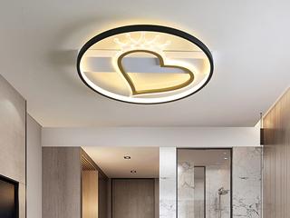 金色現代簡約吸頂燈 光線皇冠 客廳餐廳臥室燈(含光源)