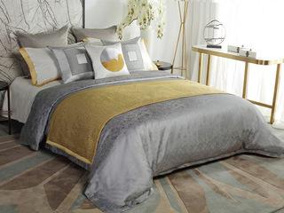 梦落夕 床品四件套(含1对枕套、1条被套、1条床单)(不含芯)