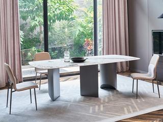 极简 进口奢石 1.5米 餐桌