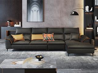 现代极简  超柔舒适 优质科技布面料 1+3+左贵妃 转角沙发
