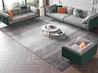 轻奢风格 全实木框架 羽绒公仔包 双人位 布艺沙发