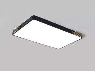 【包邮 偏远地区除外】 现代 铁艺+亚克力 900*580 无极灯光 吸顶灯(含光源 LED60W)