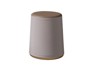 轻奢风格 环保皮艺 柔软舒适 实木内架 茶凳圆凳